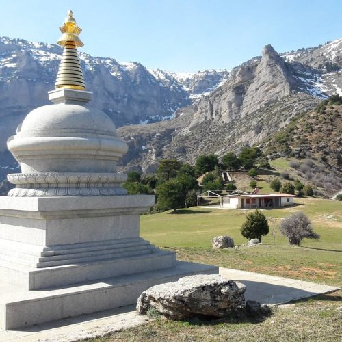 buddism stupa peloponnese